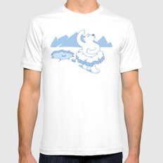 ice ballet SMALL Mens Fitted Tee White