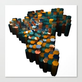 Hex Series # 1 Canvas Print