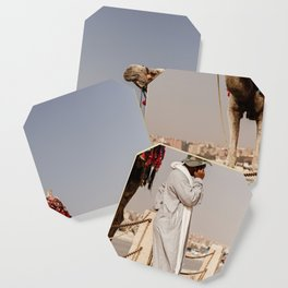 Camels and Cell Phones Coaster