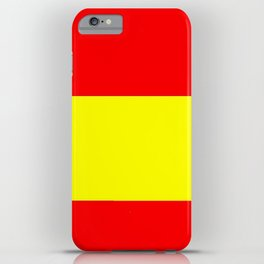 Flag of spain 4-spain,espana, spanish,plus ultra,espanol,Castellano,Madrid,Barcelona iPhone Case