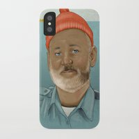 life aquatic iPhone & iPod Cases featuring An Aquatic Life by harrylime