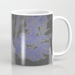 Bloom in Neon Blue Coffee Mug