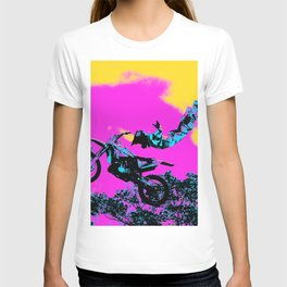 Letting Go - Freestyle Motocross Stunt T-shirt