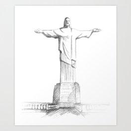 Corcovado Art Print