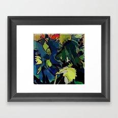 Garden Colors Framed Art Print