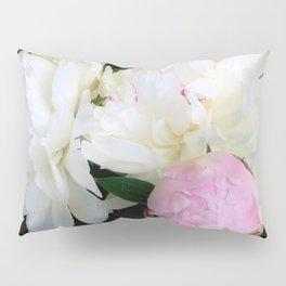 Peonies White & Pink Pillow Sham