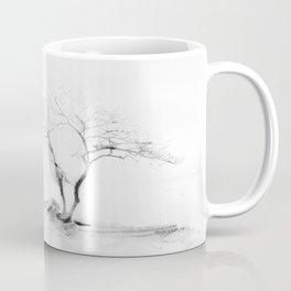 Scots Pine, Gray Coffee Mug