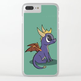 Baby Spyro Clear iPhone Case