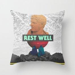 Rest Well Throw Pillow