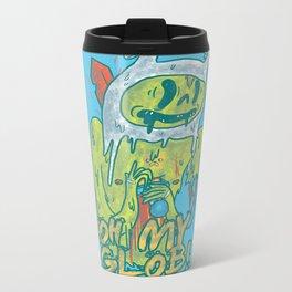 Zombie Finn Metal Travel Mug