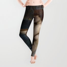 A MERMAID - WATERHOUSE Leggings