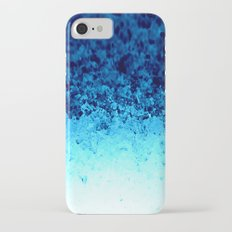 Blue Crystal Ombre iPhone 7 Slim Case