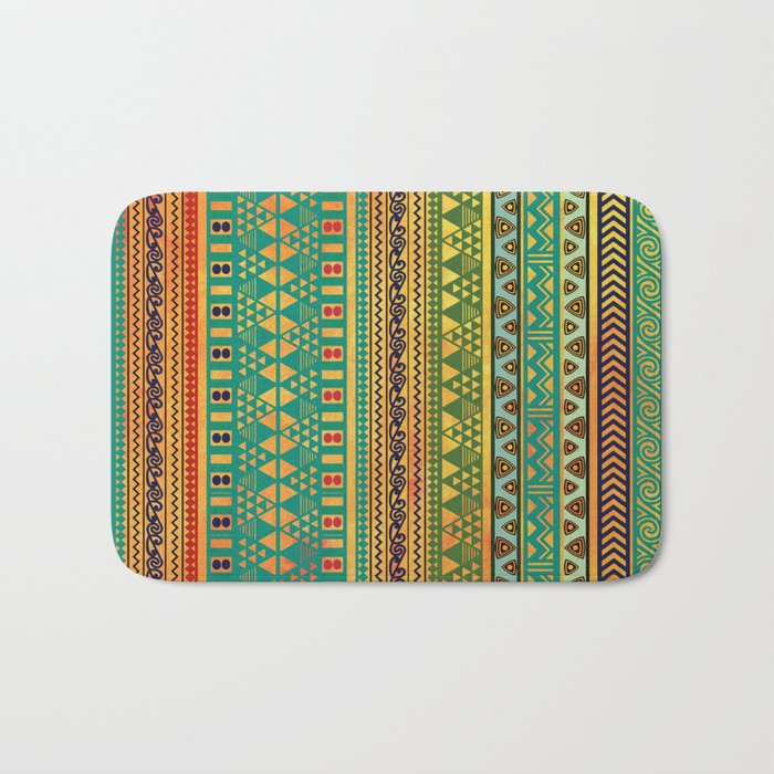 Inspired Aztec Pattern 3 Bath Mat
