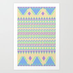 TriangleTraffic Art Print