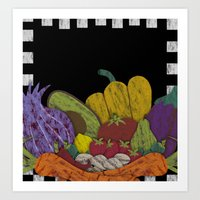 cook Art Prints featuring Cook by elvia montemayor