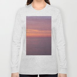 Colors of the sea at the blue hour Long Sleeve T-shirt