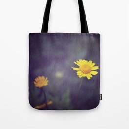 Miss Yellow Daisy Tote Bag