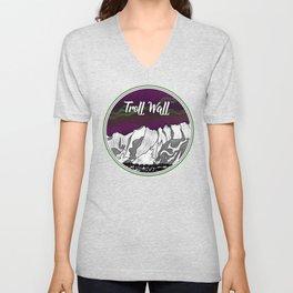TROLL WALL Unisex V-Neck