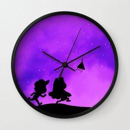 Gravity Falls - Purple Wall Clock