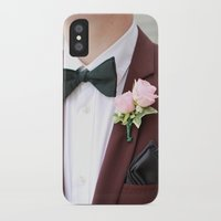 suit iPhone & iPod Cases featuring Suit by Naya Joyce