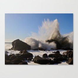 Booming Surf Canvas Print