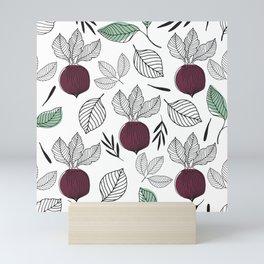 Organic Beet Mini Art Print
