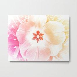 Pastel Flower 2 Metal Print