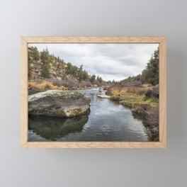 Deschutes River at Eagle Crest Framed Mini Art Print