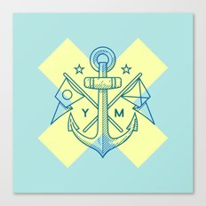 Maritime Love Canvas Print