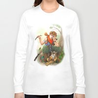 camp Long Sleeve T-shirts featuring camp by Fargon