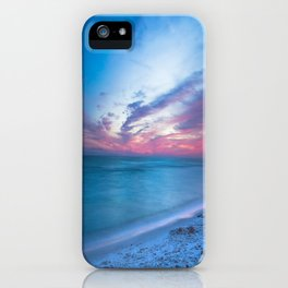 If By Sea - Sunset and Emerald Waters Near Destin Florida iPhone Case