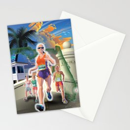 Fort Lauderdale A1A Marathon Stationery Cards