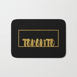 Gold Toronto Bath Mat