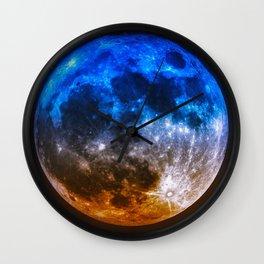 Magical Full Moon Wall Clock