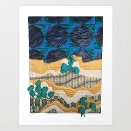 Deserted Stormscape Art Print
