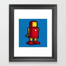 Iron Toy Framed Art Print