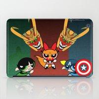 powerpuff girls iPad Cases featuring Powerpuff Girls by milanova