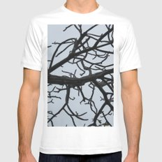 Branching Out Mens Fitted Tee White MEDIUM
