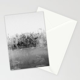 A través del cristal (black and white version) Stationery Cards