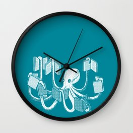 Armed With Knowledge Wall Clock