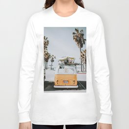lets surf / venice beach, california Long Sleeve T-shirt