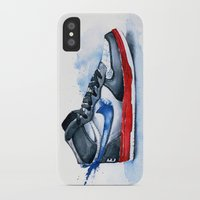 nike iPhone & iPod Cases featuring Nike dunk by istraille