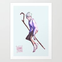 johannathemad Art Prints featuring Magical Boy by JohannaTheMad