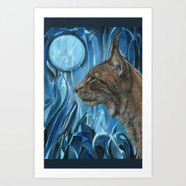 Dreams of a Lynx Art Print