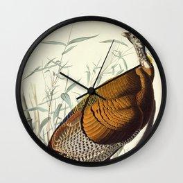 Great American Cock (Wild Turkey) Wall Clock