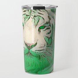 Green Tiger Travel Mug
