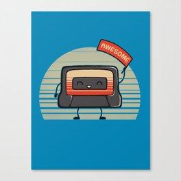 Cute Mix Tape Canvas Print