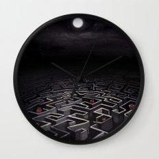 Labyrinth  Wall Clock