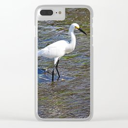Provocative Pretender - horizontal Clear iPhone Case