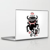 asian Laptop & iPad Skins featuring Asian Demons by Ceskus